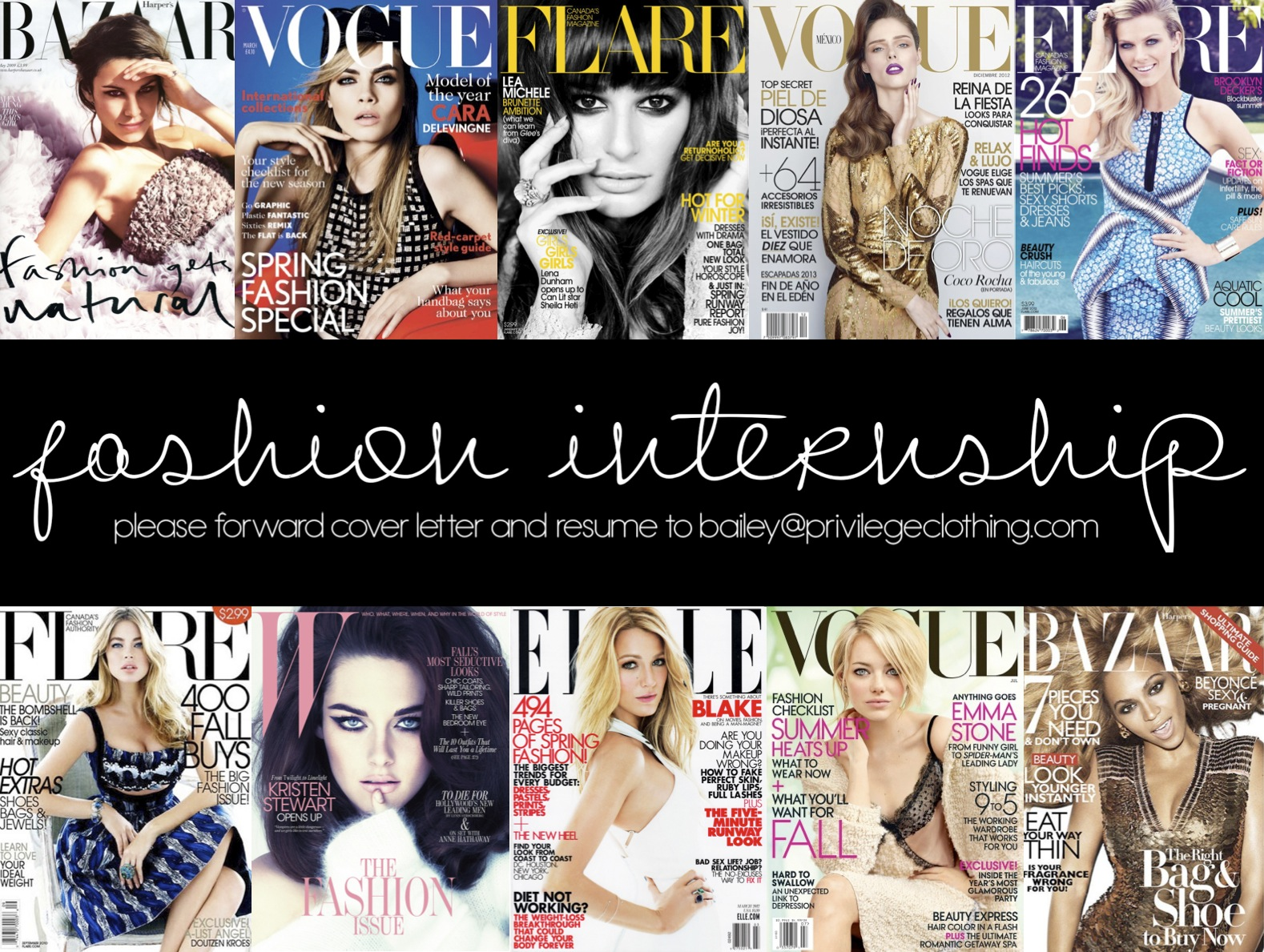 Fashion pr internships fashion 2016